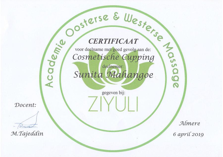 certificaat-cosmetische-cupping